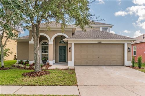 Photo of 27643 SKY LAKE CIRCLE, WESLEY CHAPEL, FL 33544 (MLS # T3278458)