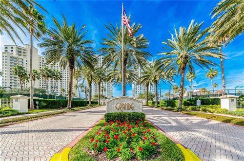 Photo of 1180 GULF BOULEVARD #1702, CLEARWATER BEACH, FL 33767 (MLS # U8114471)
