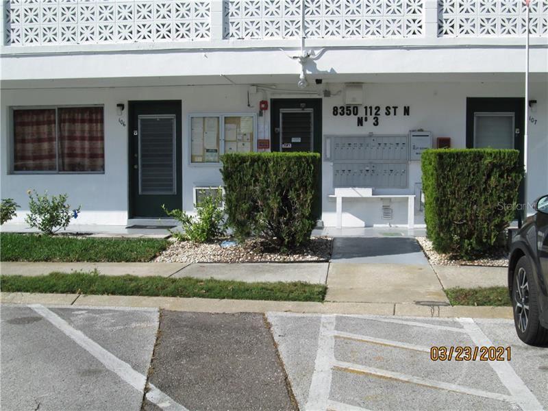 8350 112TH STREET #110, Seminole, FL 33772 - MLS#: U8117474