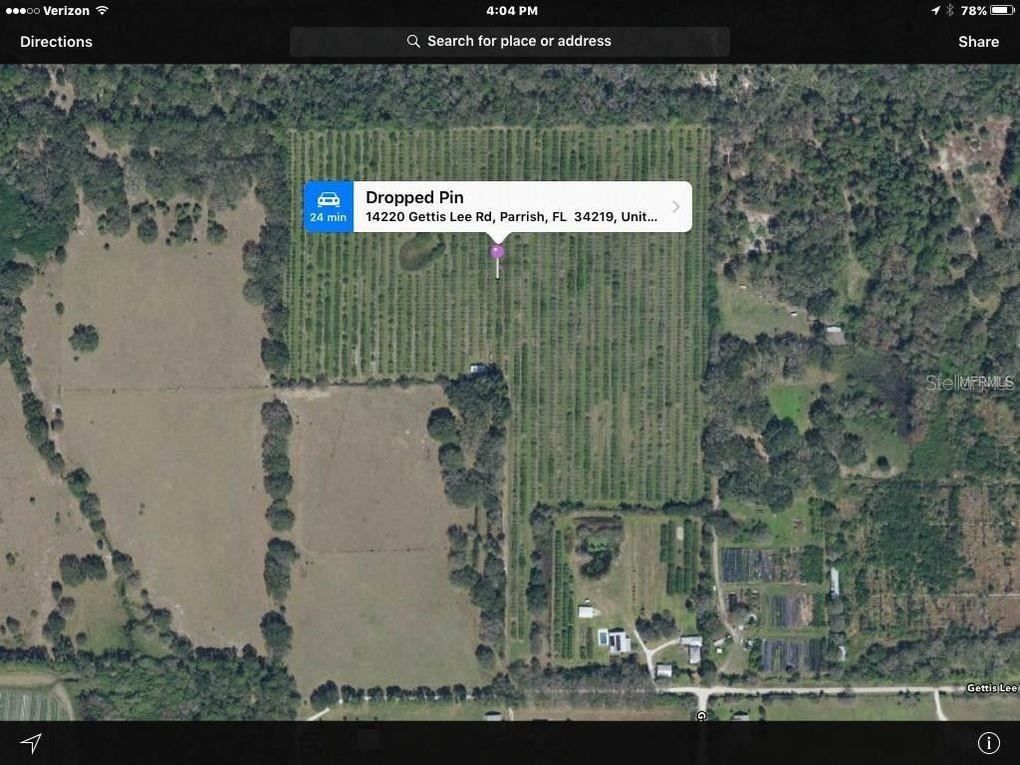 Photo of 14220 GETTIS LEE RD, PARRISH, FL 34219 (MLS # A4409480)
