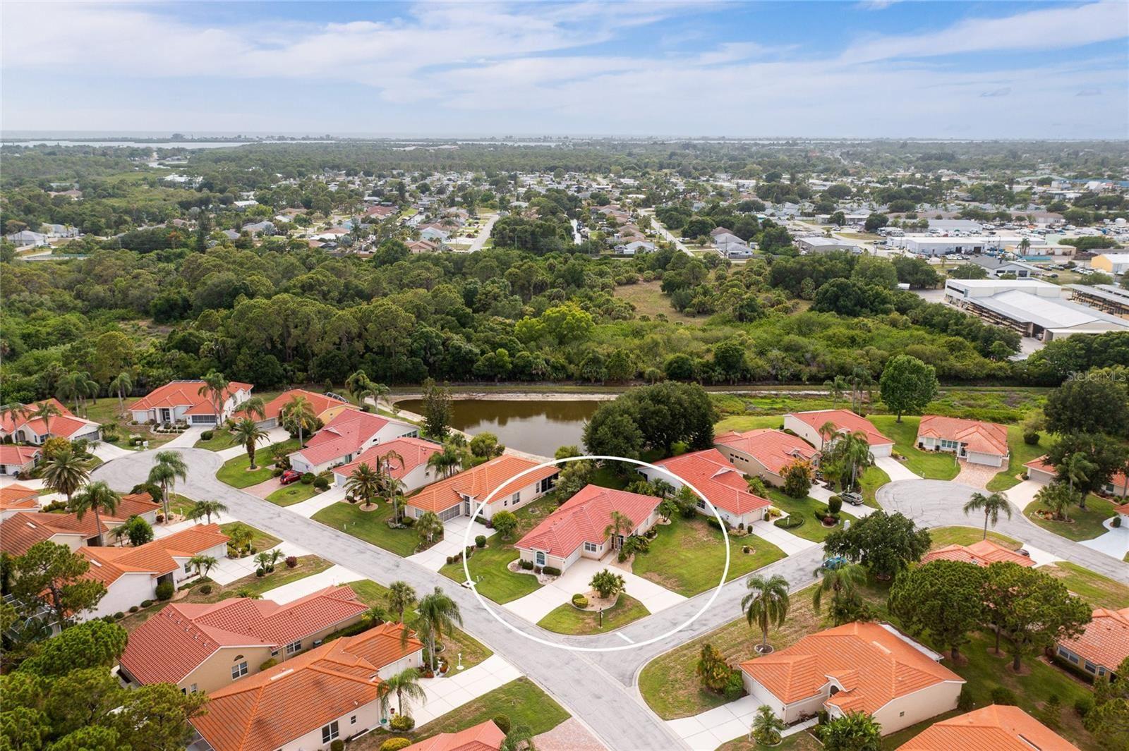 Photo of 8356 CREEKVIEW LANE, ENGLEWOOD, FL 34224 (MLS # D6119507)