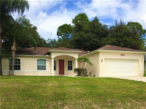 Photo of 5802 GAFFNEY AVENUE, NORTH PORT, FL 34291 (MLS # A4462523)