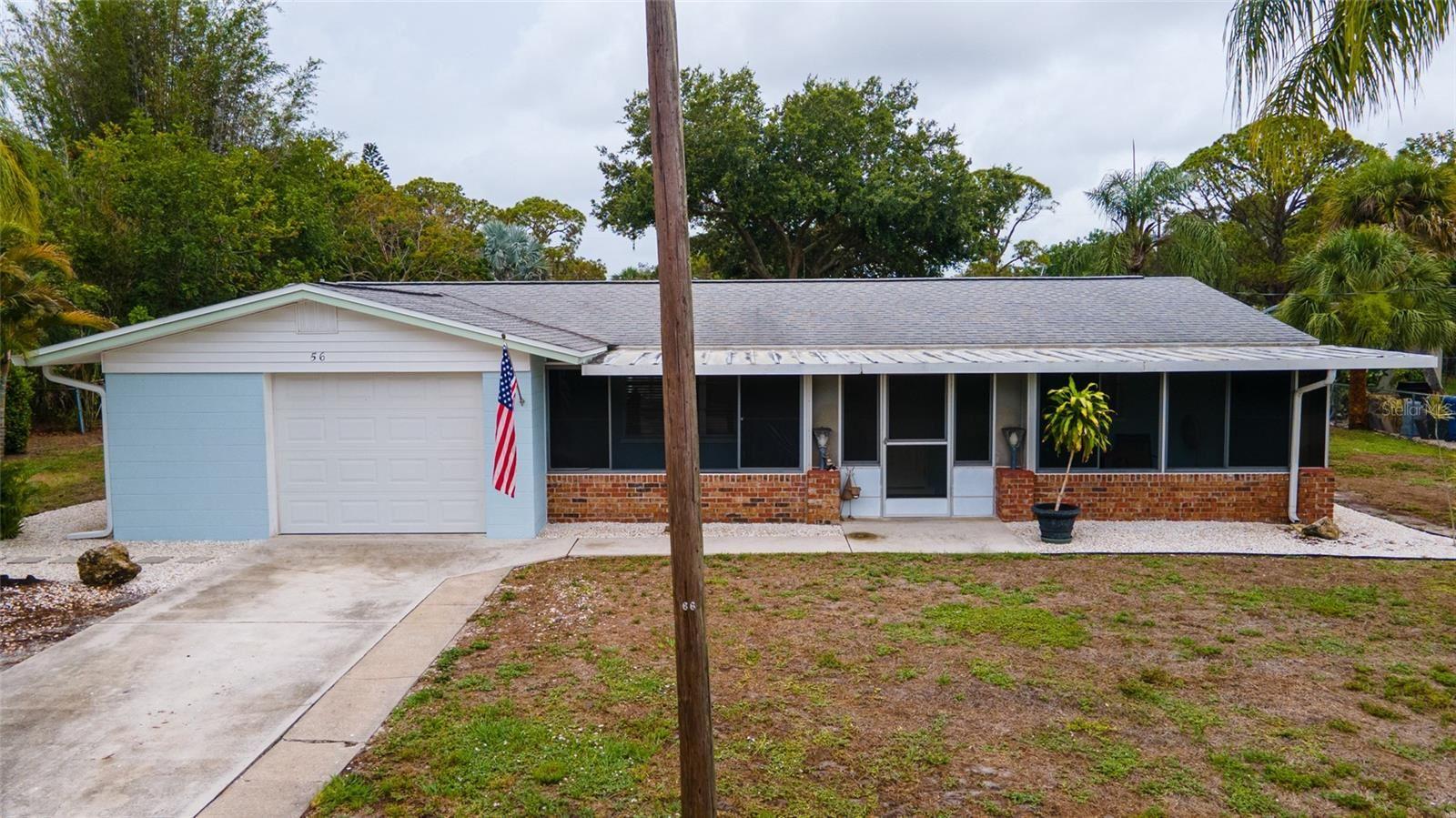 Photo of 56 WARREN AVENUE, ENGLEWOOD, FL 34223 (MLS # D6119525)