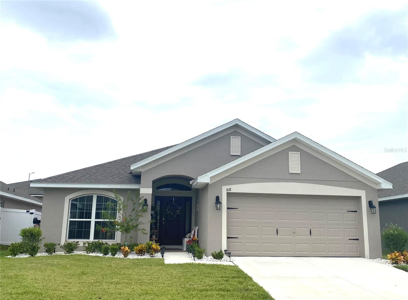 818 LANDMARK HILLS DRIVE, Haines City, FL 33844 - #: T3327526