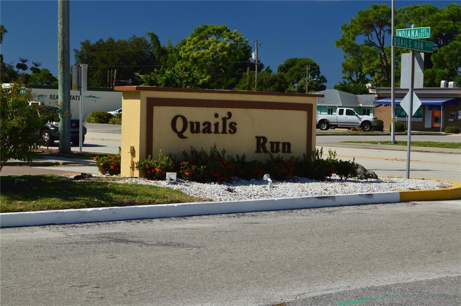 Photo of 10 QUAILS RUN BOULEVARD #10, ENGLEWOOD, FL 34223 (MLS # D6121540)