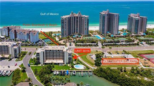 Photo of 1581 GULF BOULEVARD #301N, CLEARWATER, FL 33767 (MLS # U8086544)