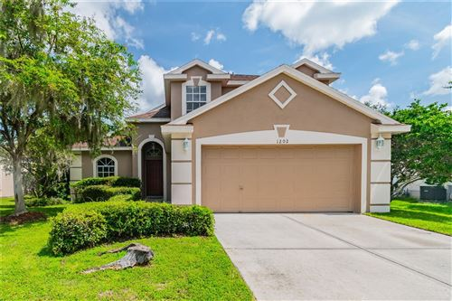 Photo of 1202 TIMBER TRACE DRIVE, WESLEY CHAPEL, FL 33543 (MLS # T3329551)
