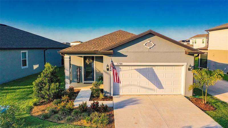 7744 YALE HARBOR DRIVE, Wesley Chapel, FL 33545 - MLS#: T3304563