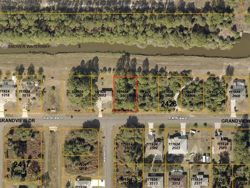Photo of GRANDVIEW (CANAL) DRIVE, NORTH PORT, FL 34288 (MLS # A4433580)
