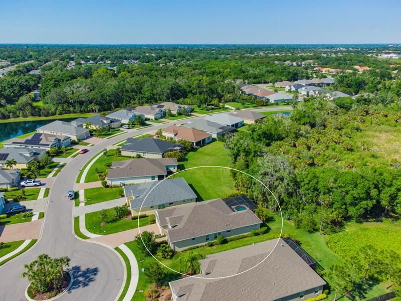 Photo of 3610 WOODCLIFF LAKE TERRACE, SARASOTA, FL 34243 (MLS # A4498599)