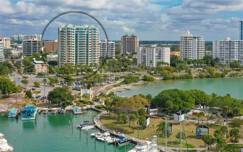 Photo of 340 S PALM AVENUE #153, SARASOTA, FL 34236 (MLS # A4489615)