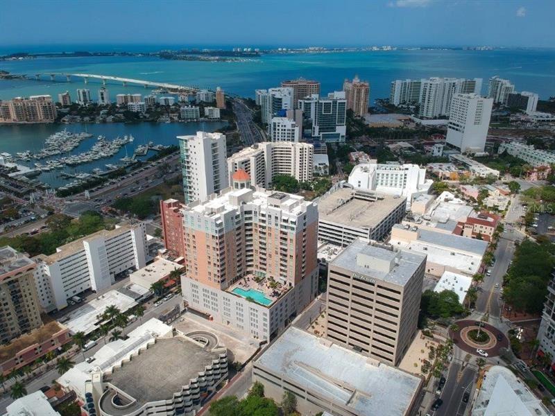 1350 MAIN STREET #504, Sarasota, FL 34236 - MLS#: A4496617