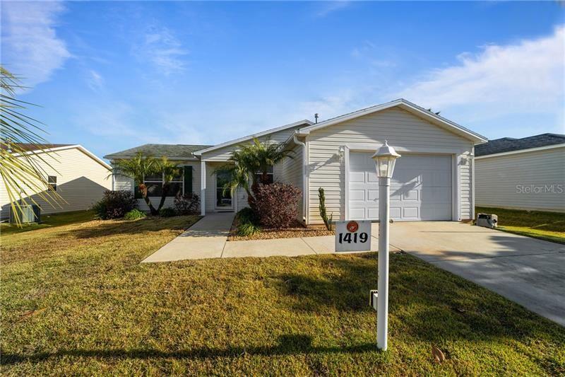 1419 WALTERBORO LANE, The Villages, FL 32162 - #: G5037617