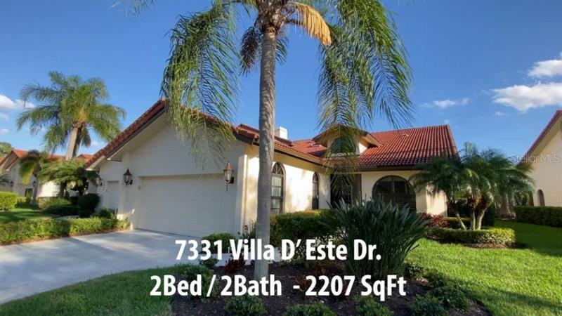 7331 VILLA D ESTE DRIVE, Sarasota, FL 34238 - #: T3292624