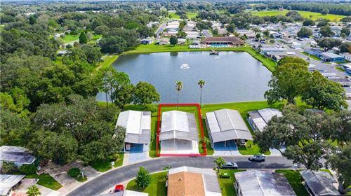 Photo of 3204 HIDDEN LAKE DRIVE, WESLEY CHAPEL, FL 33543 (MLS # T3272648)