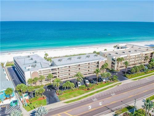 Photo of 3500 GULF BOULEVARD #404, BELLEAIR BEACH, FL 33786 (MLS # U8133665)
