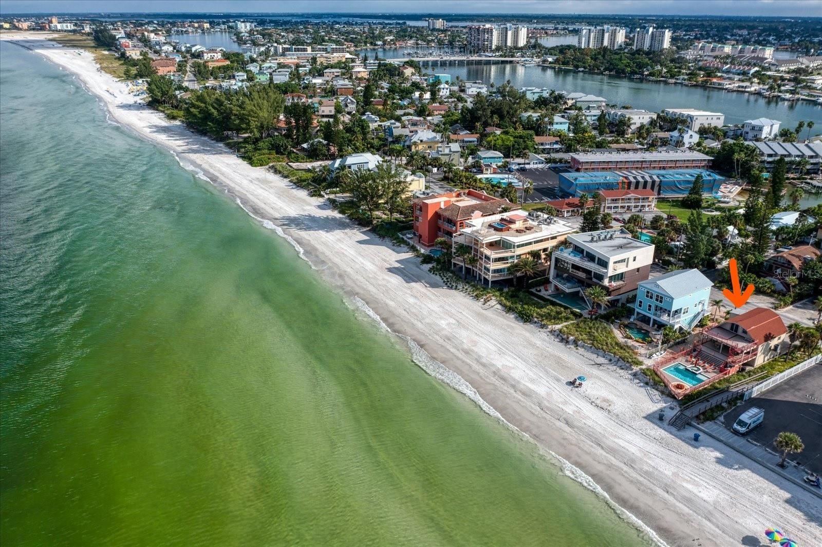 8478 W GULF BOULEVARD, Treasure Island, FL 33706 - MLS#: U8137666