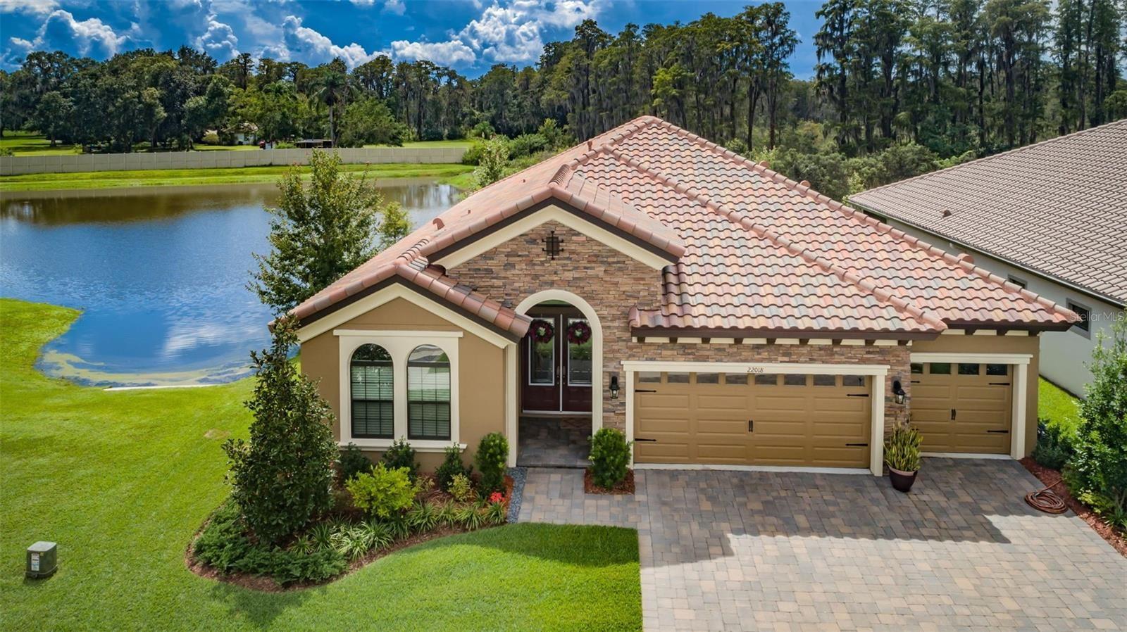 22018 PRISTINE LAKE BOULEVARD, Land O Lakes, FL 34637 - #: W7838689