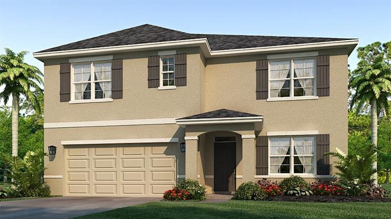 2906 GREENLEAF TERRACE, Parrish, FL 34219 - #: T3245744