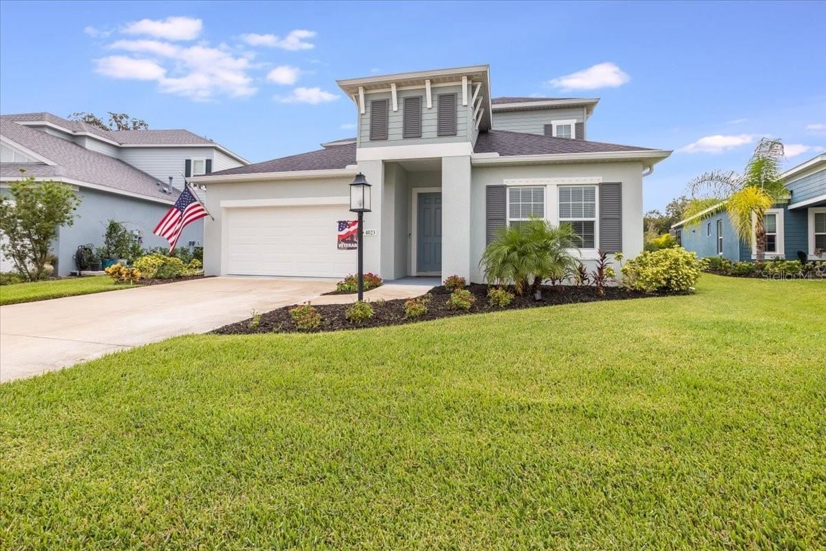Photo of 4023 GRASS POINTE DRIVE, PARRISH, FL 34219 (MLS # A4512766)