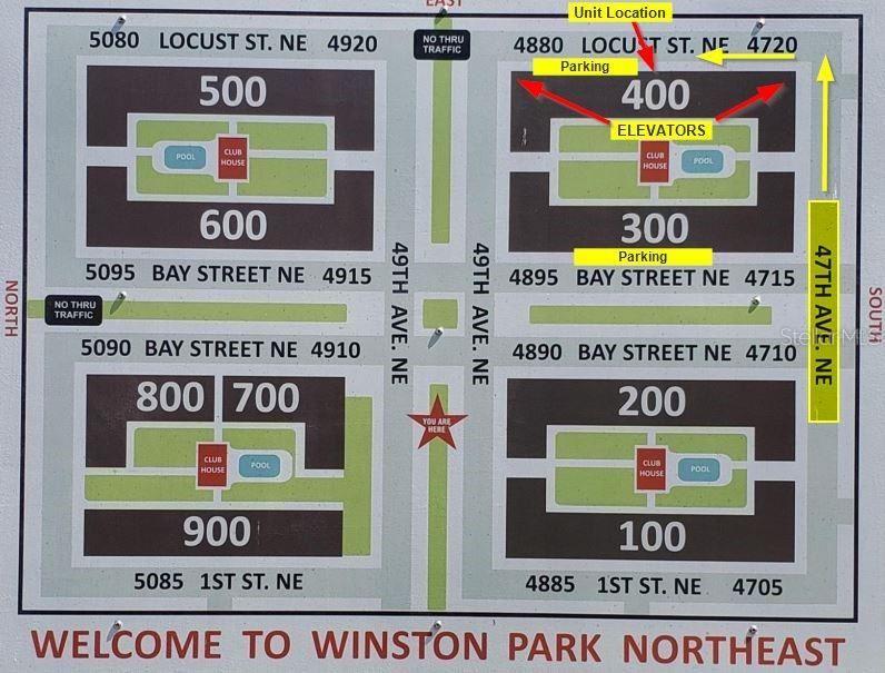 4880 LOCUST STREET NE #321, Saint Petersburg, FL 33703 - #: T3329768