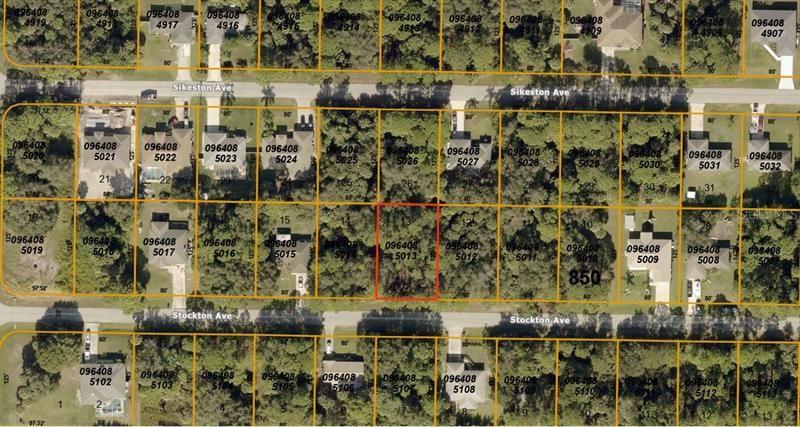Photo of STOCKTON AVENUE, NORTH PORT, FL 34286 (MLS # A4467772)