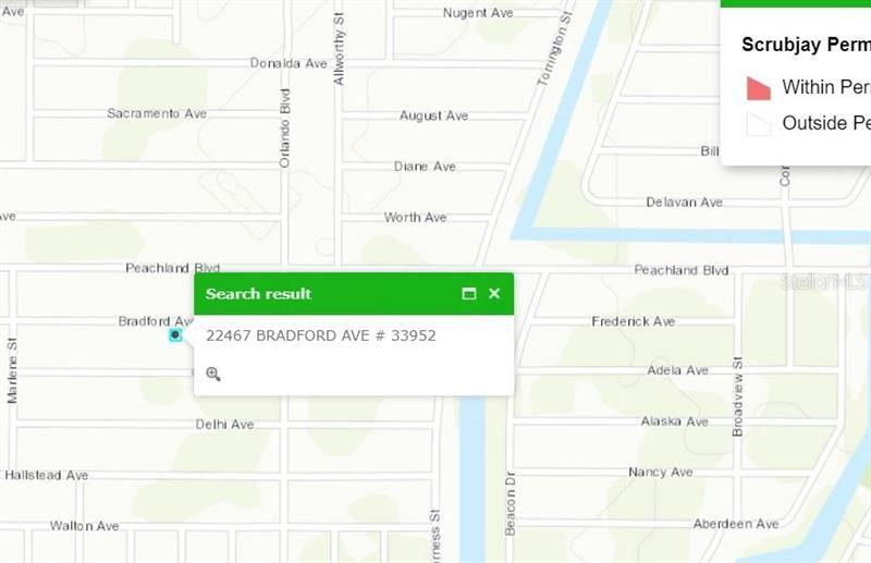 Photo of 22467 BRADFORD AVENUE, PORT CHARLOTTE, FL 33952 (MLS # D6114774)