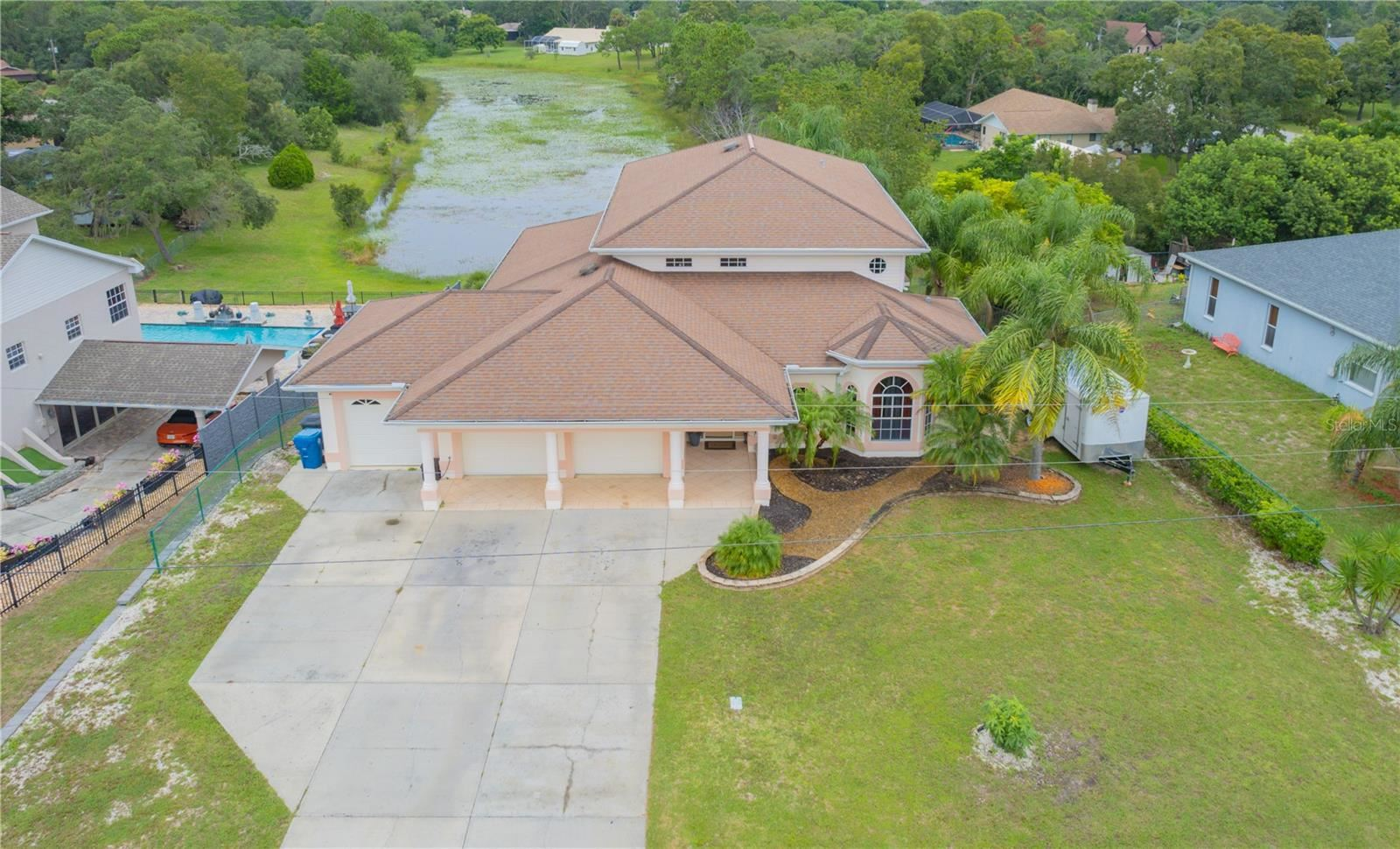 7045 CLEARWATER DRIVE, Spring Hill, FL 34606 - #: T3325776