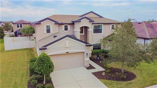 Photo of 8437 BLUEVINE SKY DRIVE, LAND O LAKES, FL 34637 (MLS # U8109807)