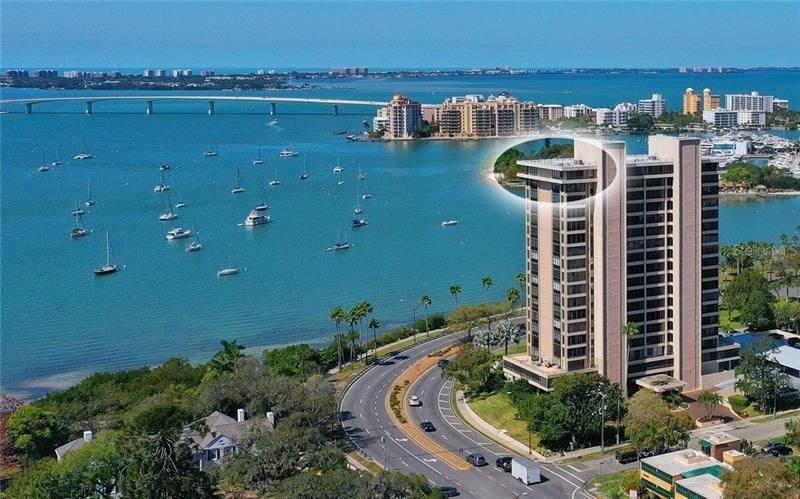 770 S PALM AVENUE #PH-1, Sarasota, FL 34236 - #: A4485812