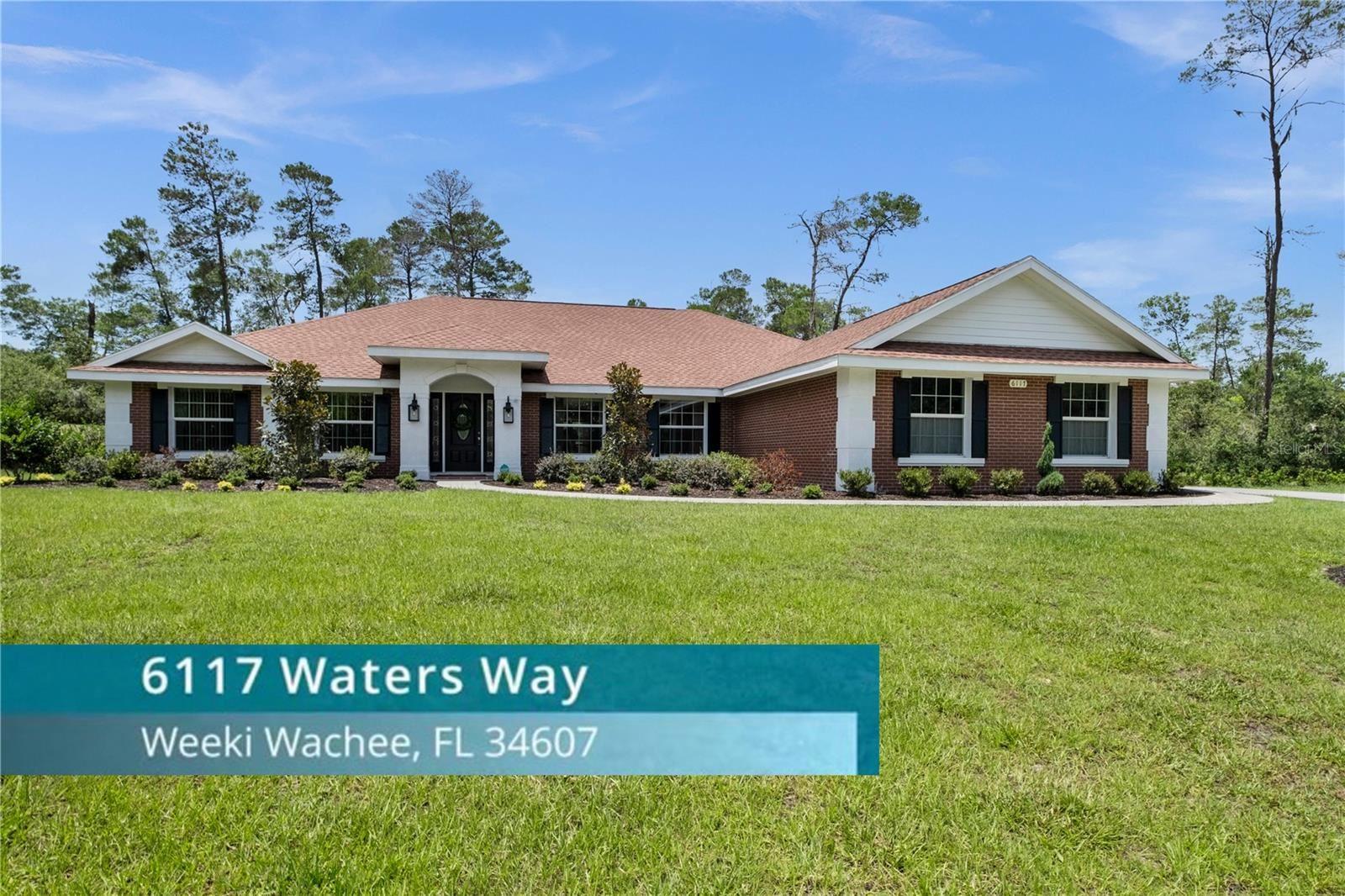 6117 WATERS WAY, Weeki Wachee, FL 34607 - #: W7834812