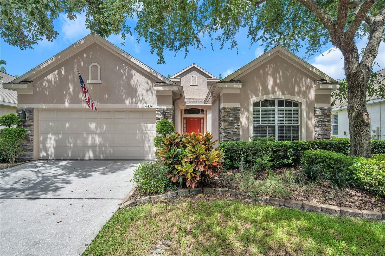 10224 EVERGREEN HILL DRIVE, Tampa, FL 33647 - #: T3334866