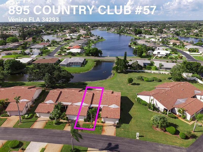 895 COUNTRY CLUB CIRCLE #57, Venice, FL 34293 - #: C7431872