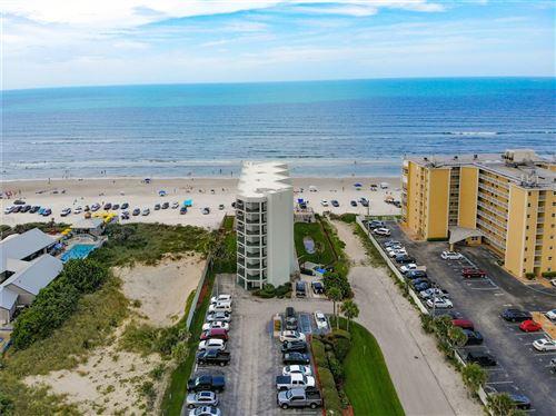 Photo of 3405 S ATLANTIC AVENUE #201, NEW SMYRNA BEACH, FL 32169 (MLS # O5956902)