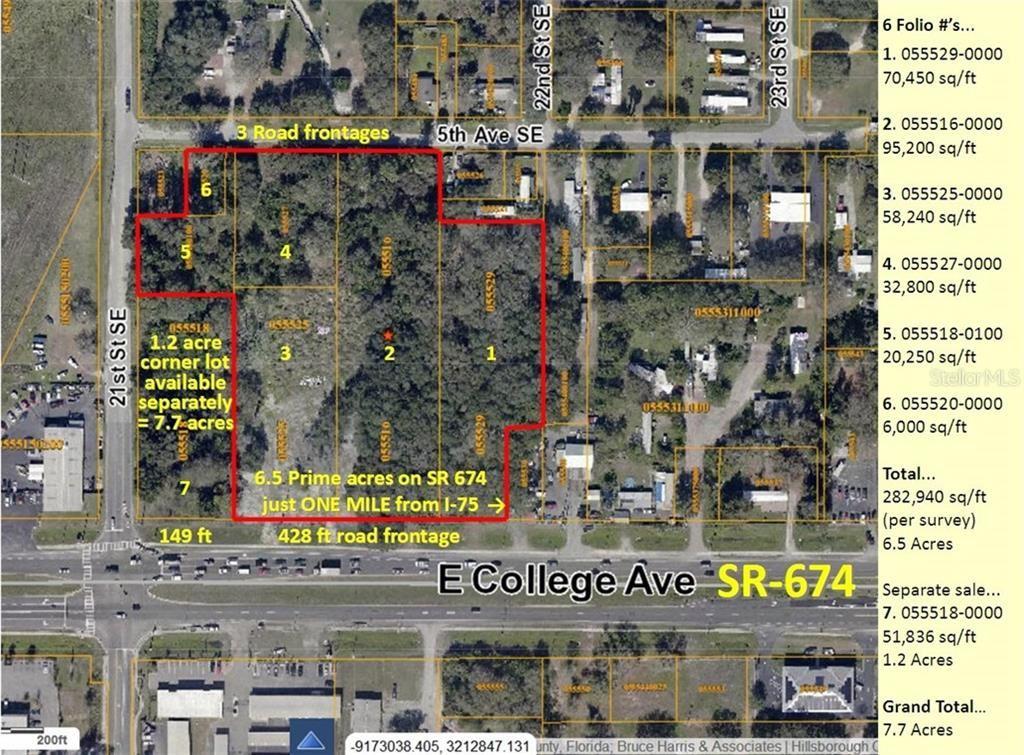 0000 E COLLEGE (SR-674) AVENUE, Ruskin, FL 33570 - MLS#: T3282913