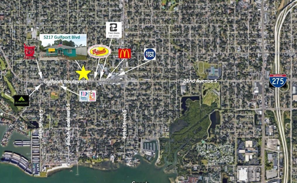 5217 GULFPORT BOULEVARD S, Gulfport, FL 33707 - MLS#: U8131921