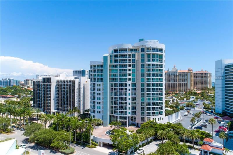 Photo of 990 BLVD OF THE ARTS #1403, SARASOTA, FL 34236 (MLS # A4449930)