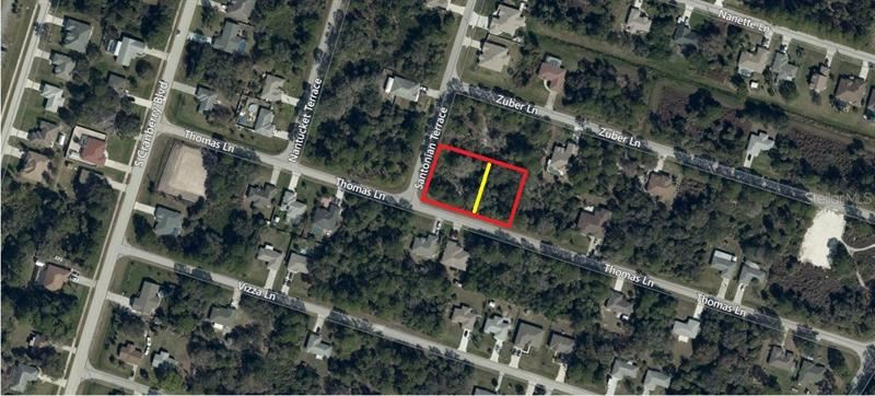 Photo of Lots 1 & 2 THOMAS LANE, NORTH PORT, FL 34286 (MLS # D6111963)
