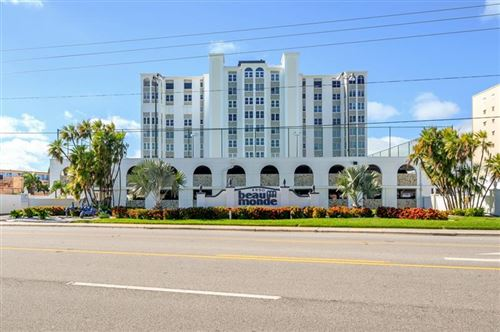 Photo of 4950 GULF BOULEVARD #702, ST PETE BEACH, FL 33706 (MLS # T3278979)