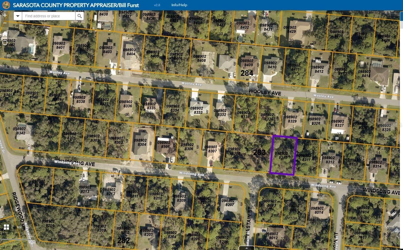 Photo of WINDSONG AVENUE, NORTH PORT, FL 34287 (MLS # A4502981)