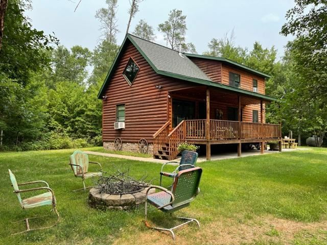 Photo of 8204 N Lakeside Drive, Trego, WI 54888 (MLS # 6073443)