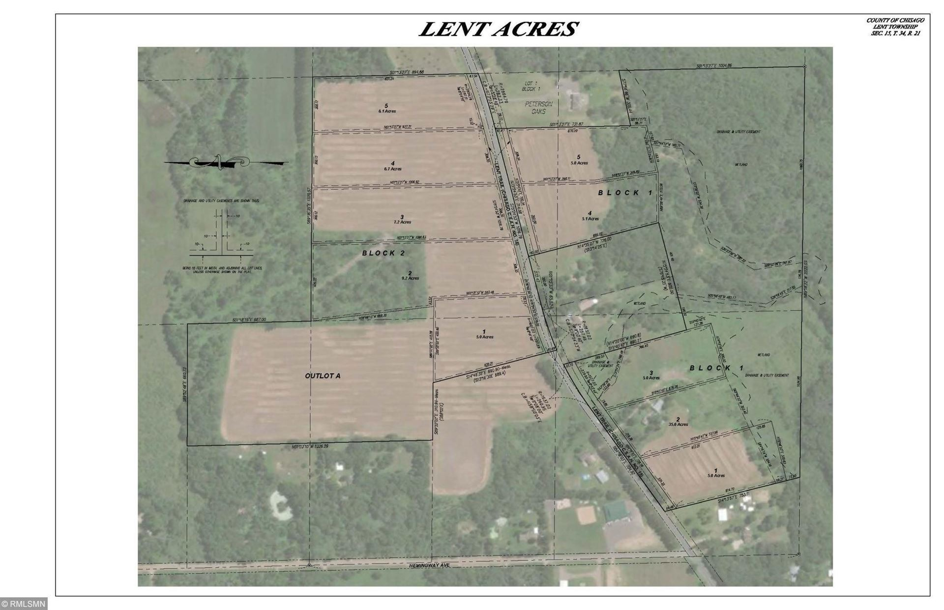 Photo of Lot 4 Lent Trail, Stacy, MN 55079 (MLS # 5644450)