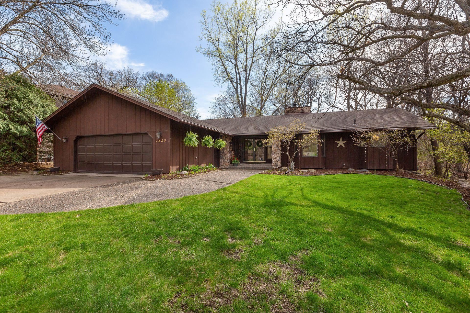1480 N Danube Road, Fridley, MN 55432 - MLS#: 5750590