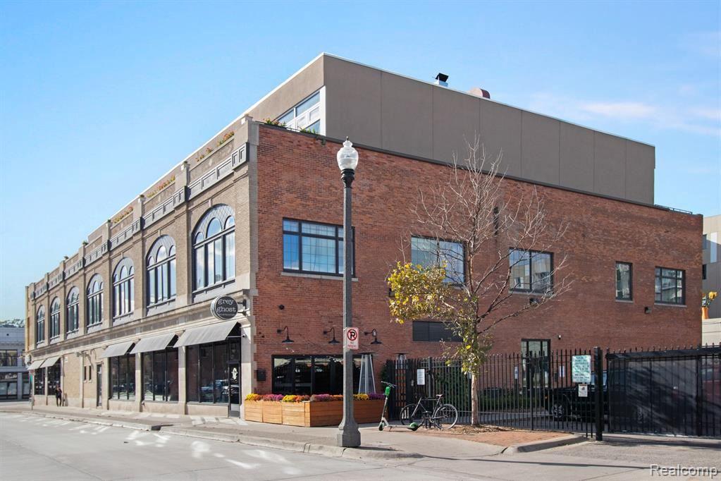 3100 WOODWARD AVE #Unit203, Detroit, MI 48201- - MLS#: 40100075