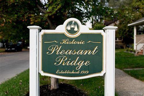 Tiny photo for 23952 WOODWARD AVE, Pleasant Ridge, MI 48069-1134 (MLS # 40138098)