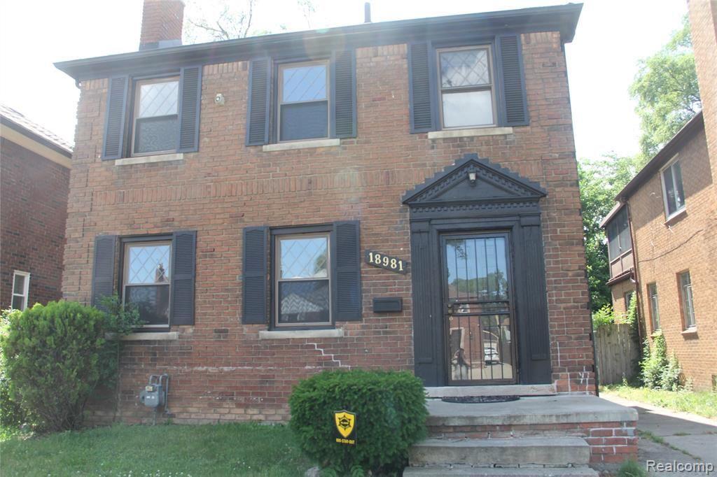 Photo for 18981 NORTHLAWN ST, Detroit, MI 48221-2036 (MLS # 40185108)