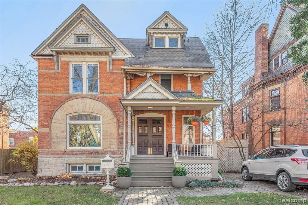Photo for 691 W CANFIELD ST, Detroit, MI 48201-1139 (MLS # 40124177)