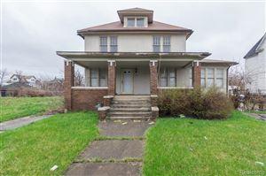 Photo of 331 TROWBRIDGE ST, Detroit, MI 48202-1356 (MLS # 30772232)