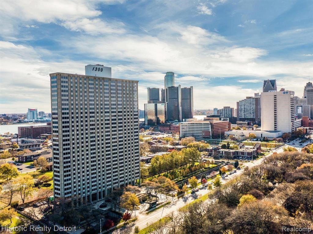 Photo for 1300 E LAFAYETTE #807, Detroit, MI 48207 (MLS # 40244285)
