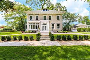Tiny photo for 285 WASHINGTON RD, Grosse Pointe, MI 48230-1613 (MLS # 21527296)